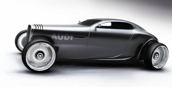 Audi Gentleman´s Racer by Mikael Lugnegård, via Behance