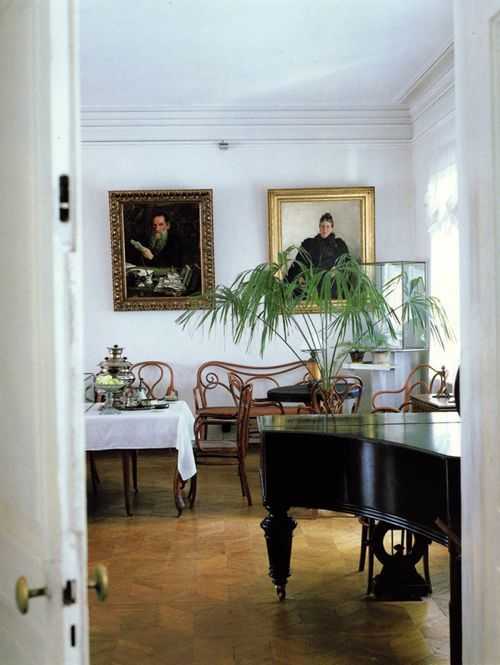 Plush Palate: Tolstoy's Russian Country House