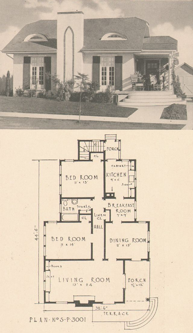 Plan No. 3001  From Southern Pine Homes