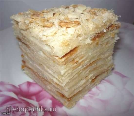 """Торт """"Наполеон"""" (постный)"""