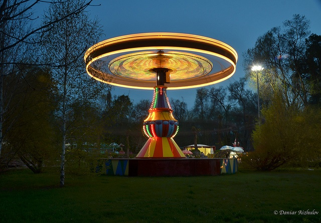 Carousel @ Gorky Park, Almaty, via Flickr.