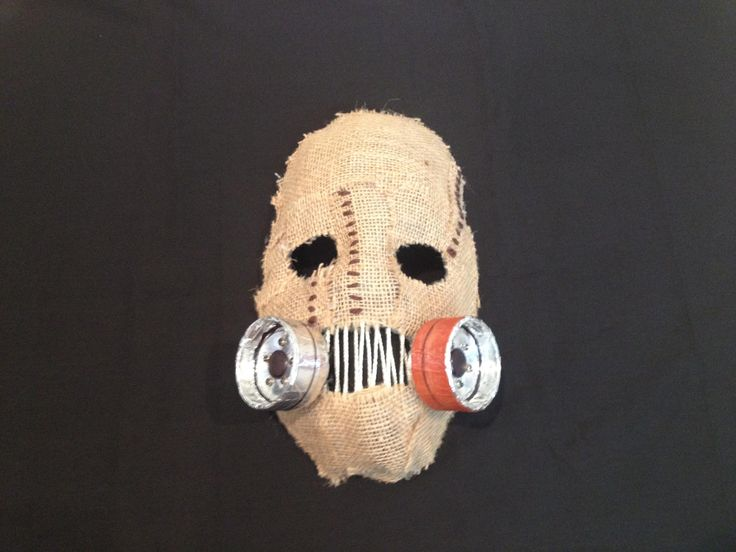 Scarecrow Mask Tutorial - Batman: Arkham Asylum