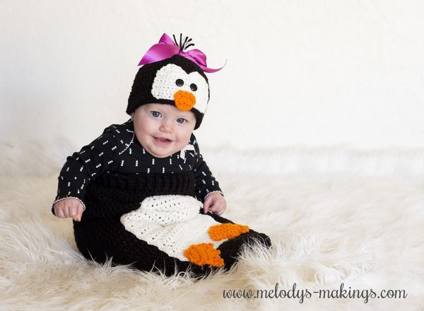 Poppy Penguin Hat and Cocoon Set ~ New Pattern Release ...