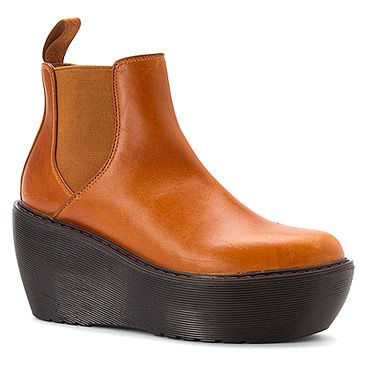 dr martens aerial chelsea boot oak analine  tan leather