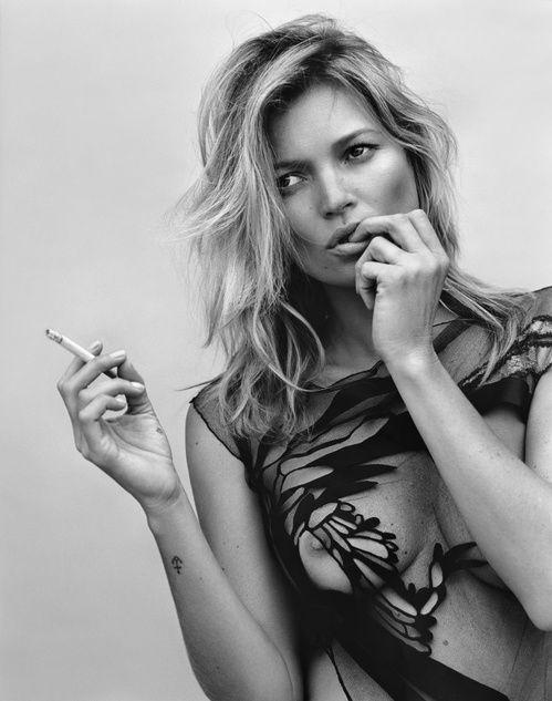 Photographe Alasdair McLellan  Modèle Kate Moss, 2014