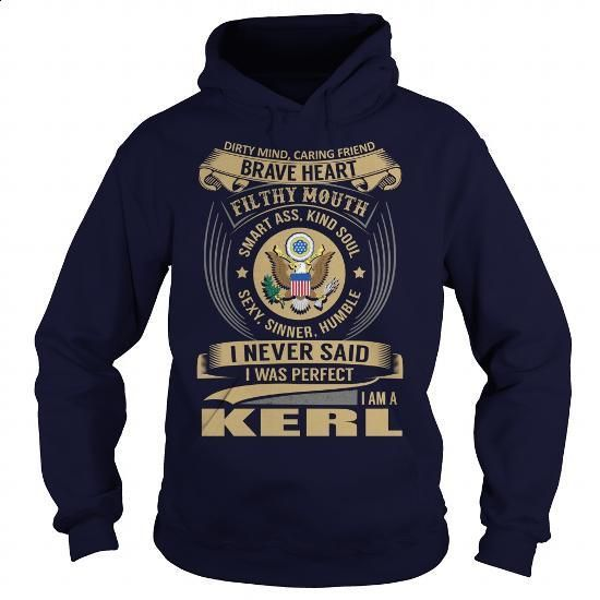 KERL Last Name, Surname Tshirt - #gift for girlfriend #shirt outfit
