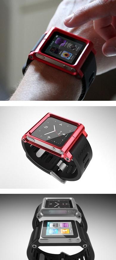 #iPod Nano #Watch Case by LunaTik @Weyley