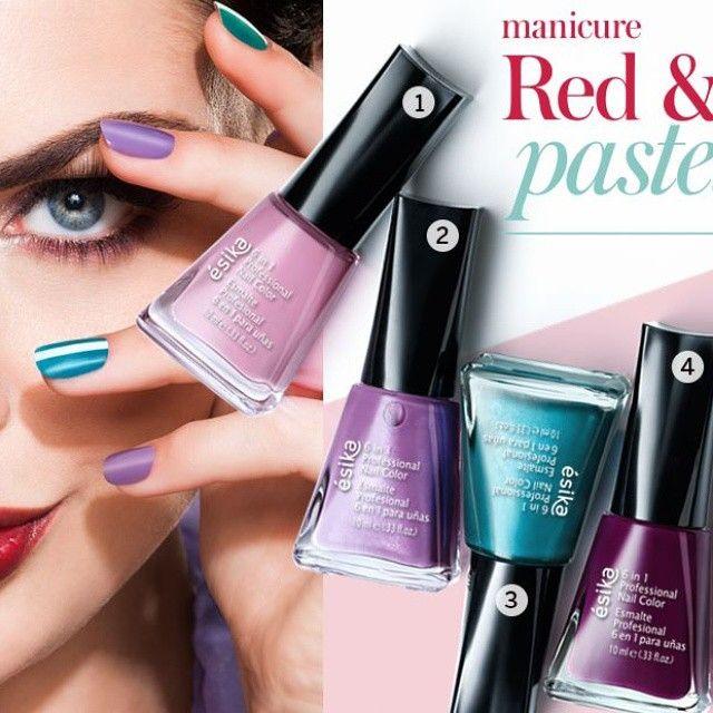 Pinta tus uñas en hermosos tonos
