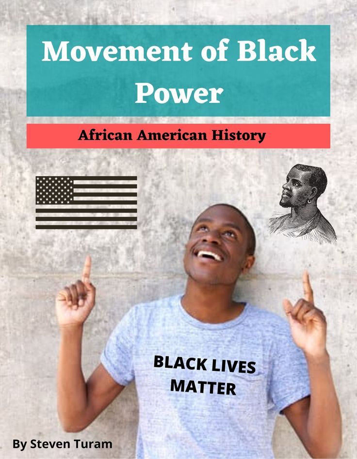 Movement of black power african american history black