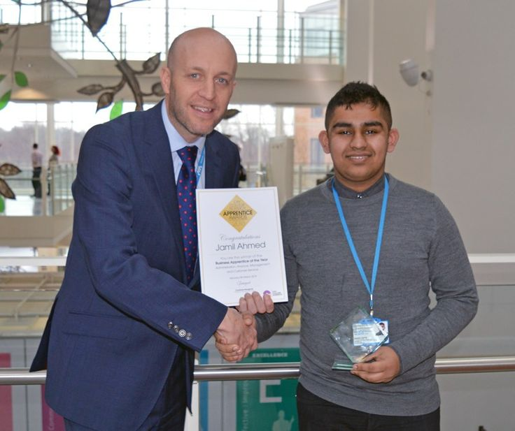 Two members of staff who have undertaken apprenticeships at the Norfolk and Norwich University Hospital #NNUH are celebrating wins at the City College #Norwich #Apprentice Awards 2018.