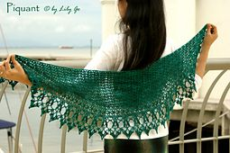 Ravelry: Piquant pattern by Lily Go