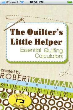 This site has quilter calculators to help you calculate yardage for borders, size side and corner setting triangles, backing, binding. It just rocks!!!