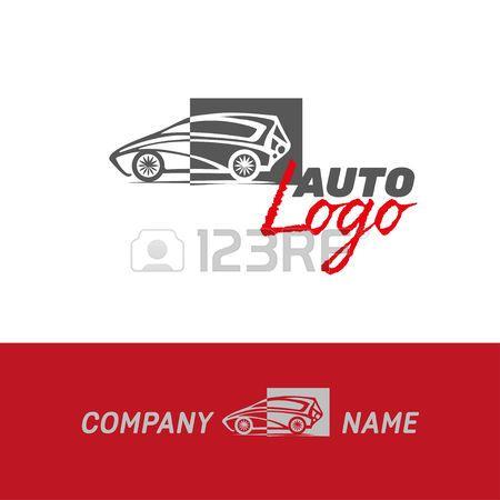 auto car abstract logo