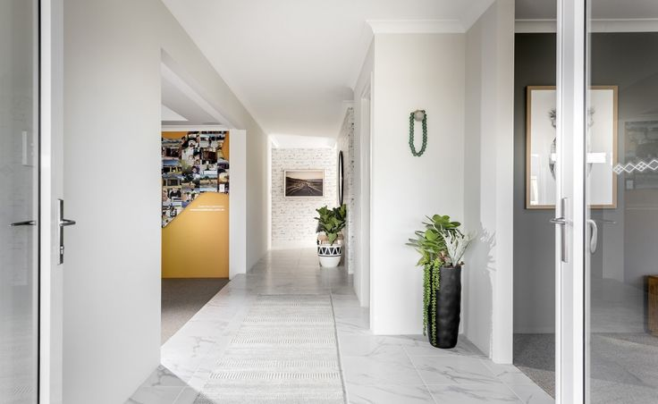 The bright and airy entrance hall is the perfect welcome to the Freeman