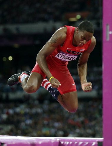 Congratulations to K-State's Erik Kynard on his silver medal in men's high jump! #highjumpu #EMAW