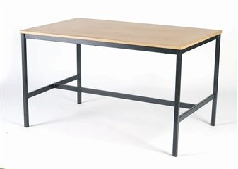 Fully Welded H Frame Art Science Craft Laboratory Table