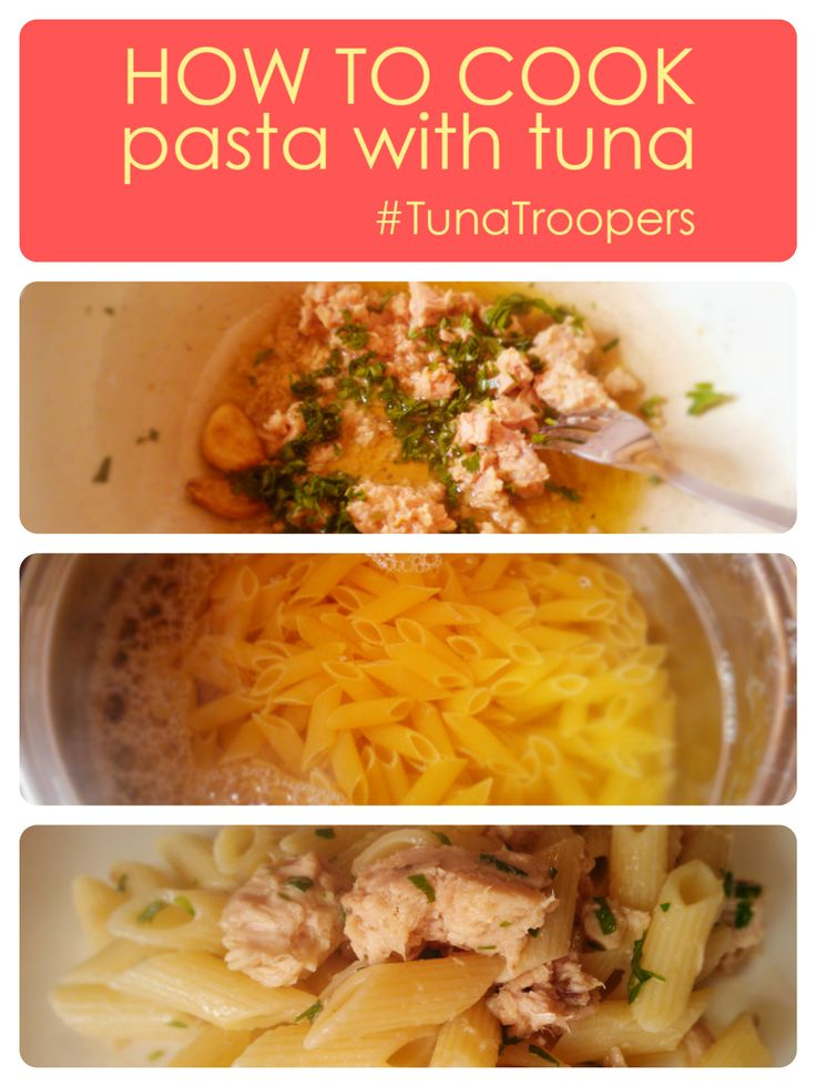 #Pasta with #tuna! Quick and easy recipe for #student!
