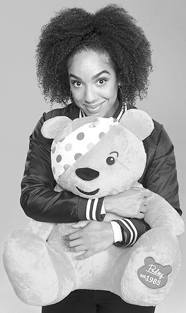 pearl mackie for children in need 2017