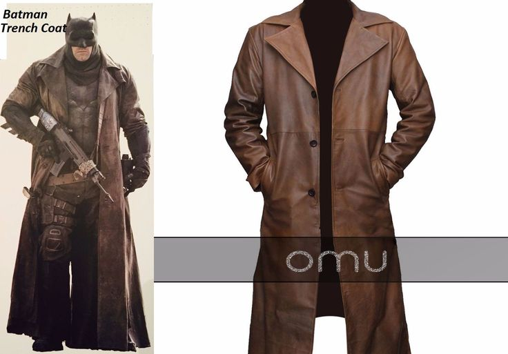 Hurry Buy now the stylish Batman Trench Coat from the famous movie Batman Vs Superman: Dawn of justice. This elegant long coat has carry by Ben Affleck as Batman. Avail now Batman trench coat from our online shop at discounted price.