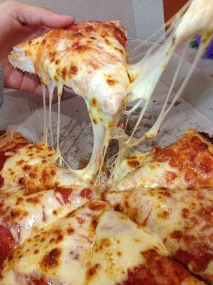 Basic Cheese Pizza - This looks great.