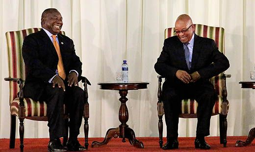 Ramaphosa's millions revealed! The rise of the black oligarchs - oh, look, I'm sure that none of it is the result of institutionalized nepotism, favoritism, reverse-racism, and widespread corruption etc (on an industrial scale), of course.