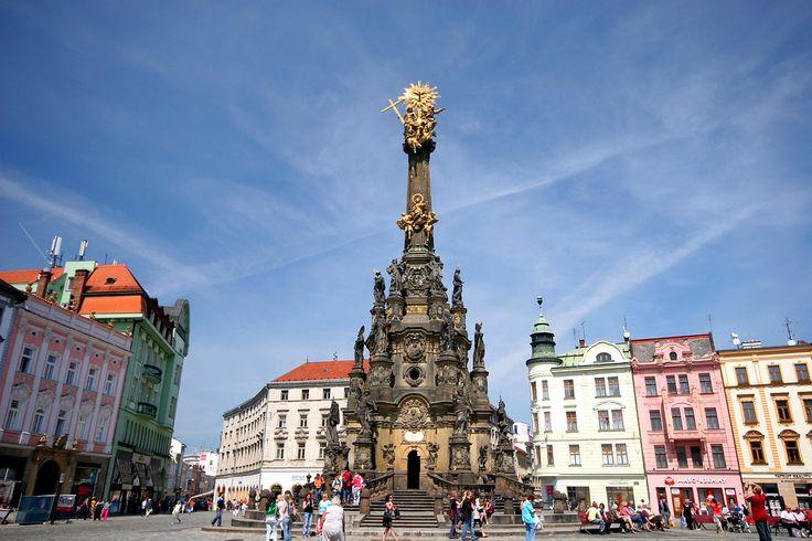 Колонна Пресвятой Троицы в Чехии