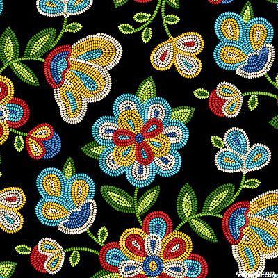 Tucson - Native American Beadwork - Black