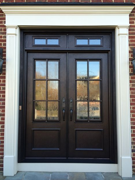 Divided Light with Transom Clark Hall Iron Doors Charlotte, NC Emailed.