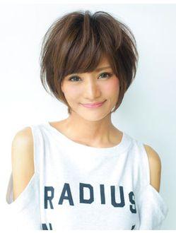 アフロート ジャパン AFLOAT JAPANナチュラルな大人かわいい小顔デザインショートヘア