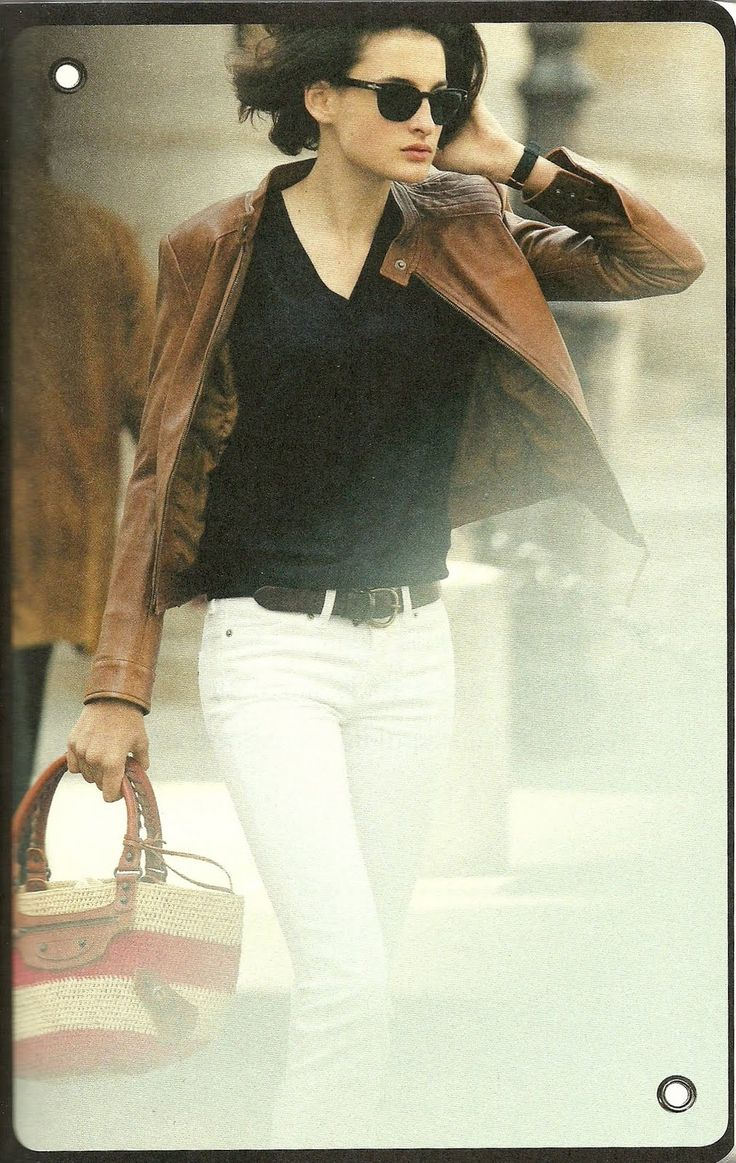 Leather Jacket - from 'Parisian Chic'