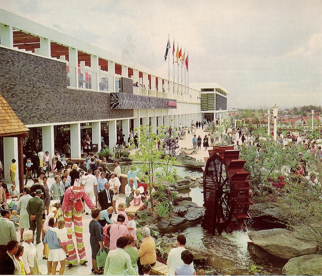 Roselands Shopping Centre, 1966. Amazing! What a groovy place to shop!