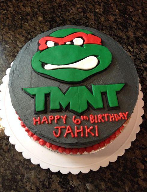 Teenage Mutant Ninja Turtles Cake by Amanda, Raleigh Durham NC, www.birthdaycakes4free.com by Birthday Cakes 4 Free, via Flickr