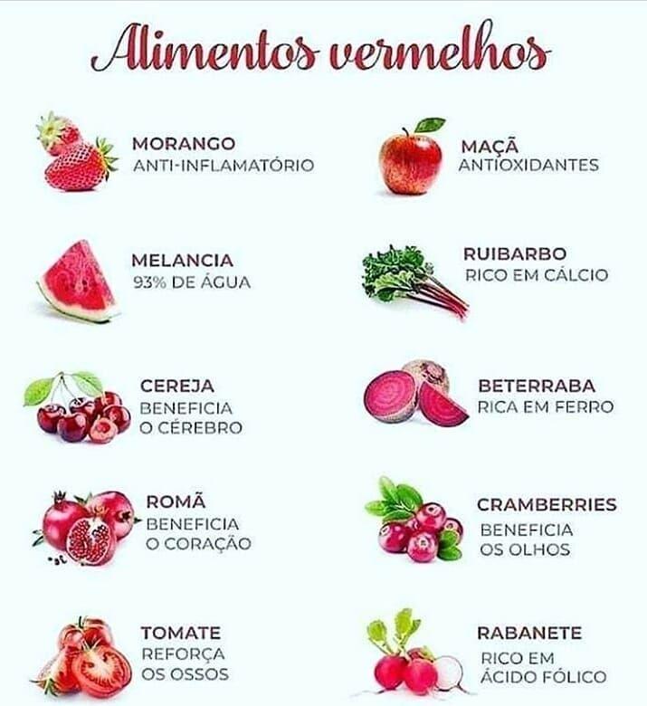 Receitas Vegetarianas On Instagram Alimentos Vermelhos