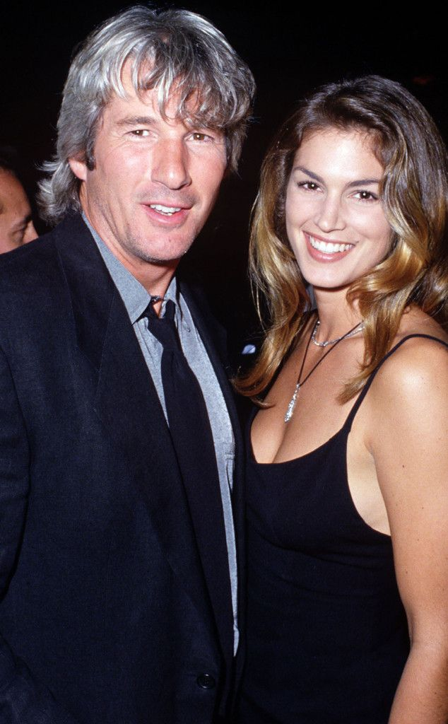 Cindy Crawford ''Learned a Lot'' From Ex-Husband Richard Gere—But Is She Going to Tell You What?  Richard Gere, Cindy Crawford, Vegas Weddings