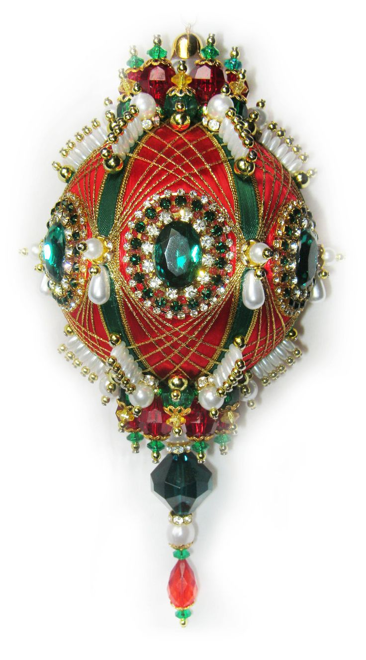 Victorian christmas decorations diy - Dazzling Christmas Ornament
