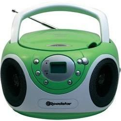 MP3 CD radio Roadstar Green Laptop