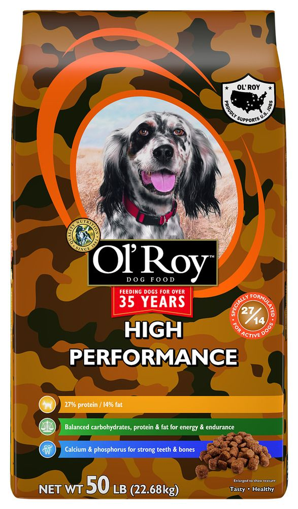 Ol Roy High Performance Dry Dog Food 50 Lb Unbranded Dog Food