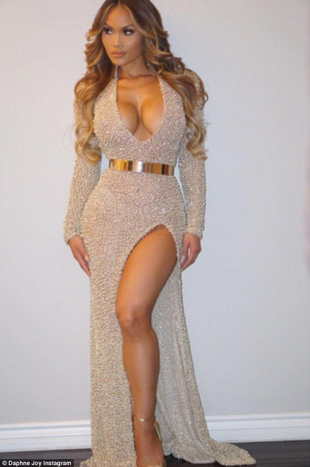 Daphne Joy displays incredible assets in metallic gown as she heads out to party two months after Jason Derulo split   Daily Mail Online