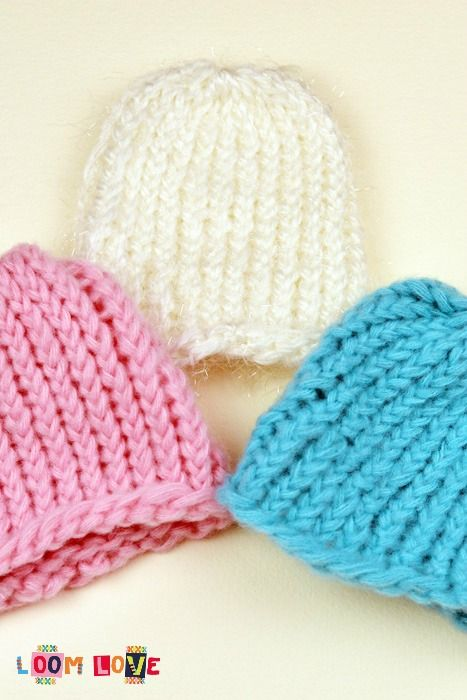 Loom Knit Baby Hat With Ears : How to loom knit a baby hat with ears online