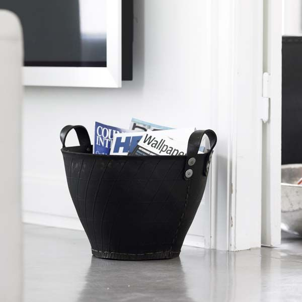 Dacarr rubber basket - eco friendly - made of used tires