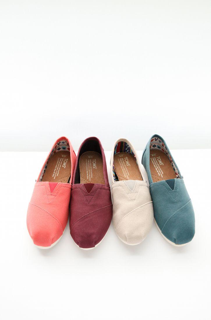 Pick a pair. TOMS Shoes.