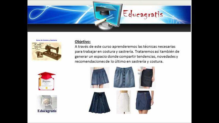 Curso de Sastrería y Costura en Aula Virtual de Educagratis