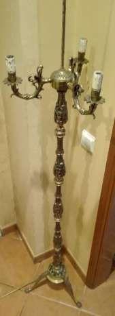 Antigo Candeeiro de pé alto de sala em bronze Nazaré - imagem 1