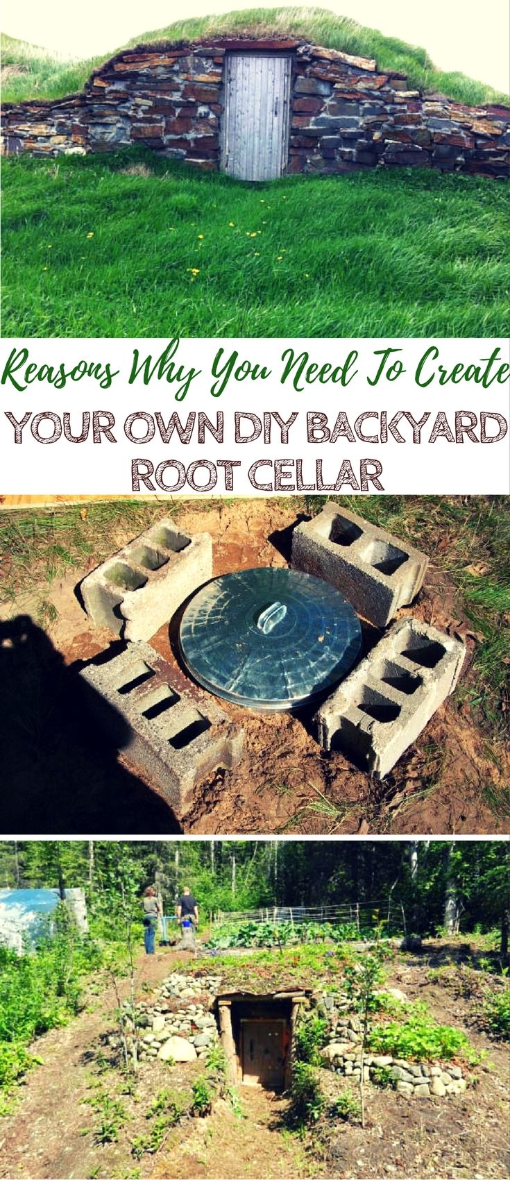The Unbelievable Reasons Why You Need To Create Your Own DIY Backyard Root Cellar - Root cellars are one of the first ways that humans were able to store food, long before electricity was even a flicker in Thomas Edison's mind. Folks today are still build