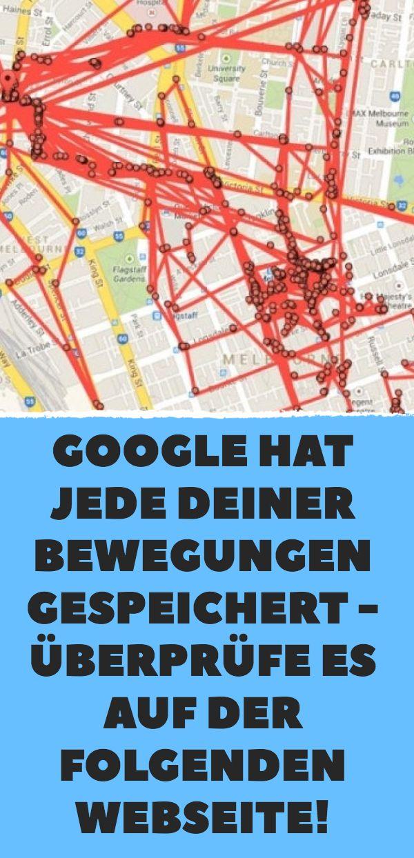 Google hat jede deiner Bewegungen gespeichert – Überprüfe es auf der folgenden Webseite! – Manfred K