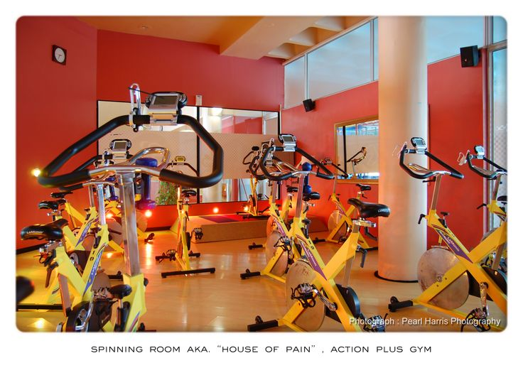 House of Pain - the spinning room - Action Plus Gym