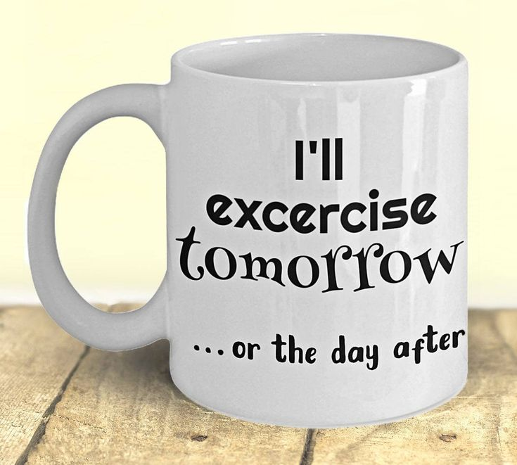 Fitness Gift, Funny Exercise Mug, Fitness Planner, Fitness Mug, Weight Loss Gift, Gift under 20, Fitness Motivation, Weight Loss Planner by PortunaghDesign on Etsy