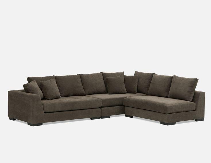 Grey Modular Sectional Sofa Structube Cooper In 2019