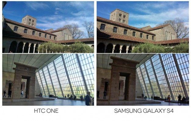 samasung galaxy S4 vs htc eine Kamera Vergleich