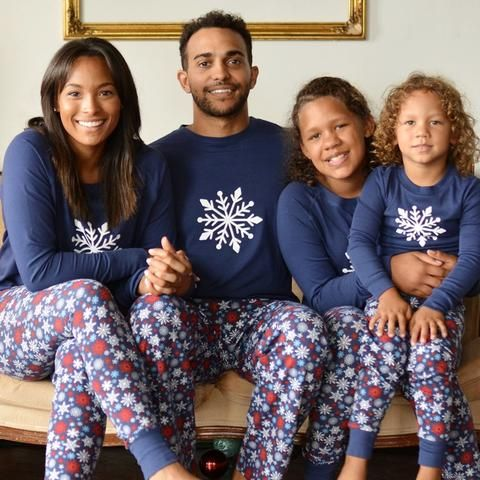 c147f46c6f Sleepyheads Snowflake Matching Family Pajama Set Our comfy family matching  pajama set features a winter snowflake design. Perfect for Christmas  morning, ...